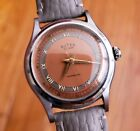 Near NOS BWC Butex Vintage Watch, Clean Copper Sector Dial