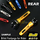 For Honda CB1300 / S 97 98 99 00 01 02 BoB 6 COLOR CNC Rear Foot pegs