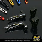 For Kawasaki GPZ900R All Year 6 COLOR 25mm Adjustable Rear Foot Pegs