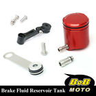 For KTM 1190 RC8 R 08 09 10 11-13 Red CNC Front Brake Cylinder Fluid Oil Tank