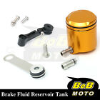 For KTM 1190 RC8 R 08 09 10 11-13 Gold CNC Front Brake Cylinder Fluid Oil Tank