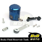 For KTM 1190 RC8 R 08 09 10 11-13 Blue CNC Front Brake Cylinder Fluid Oil Tank