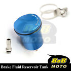 For Monster 800 1000 900 All Blue Racing CNC Rear Brake Fluid Reservoir Tank