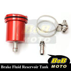 For Honda CB1000R 2008-2012 Red Racing CNC Rear Brake Fluid Reservoir Tank