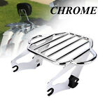 Detachable 2 Up Luggage Rack For Harley Touring Road King Street Glide 2009 2019