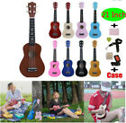 21inch Professional Ukulele Kit Electric Musical Guitar +Bag Tuner StrapPick