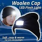5 LED Beanie Hat With Torch Flash Light Camping Cycling Outdoor Gift One Size
