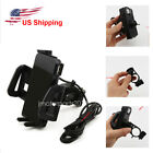 Phone Holder USB Charger Fit For Honda Gold Wing Valkyrie Rune GL 1500 1800 US
