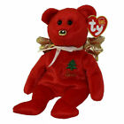 TY Beanie Baby - GIFT PEACE Bear Red Version Hallmark Gold Crown Excl-RETIRED