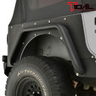 Tidal Steel Armor Rear Corner Guard Black Textured Fit 87 96 Jeep Wrangler YJ