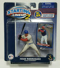 IVAN RODRIGUEZ Starting Lineup 2 MLB SLU 2001 Action Figure & Card Texas Rangers