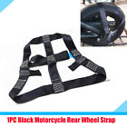 Reliable Motorcycle Scooter Rear Wheel Handlebar Transport Bar Tie Down Strap 1x