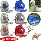 Small Dog Pet Puppy Harness And Leash Set Breathable Mesh Vest Chest Strap XS XL