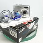 Samsung S Series S860 8.1MP Digital Camera - Silver with Box,Cable,TESTED -Great