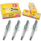 4pcs 2012 BMW G650GS NGK Standard Spark Plugs XMoto K15 Kit Set Engine lo