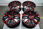 17 Red Wheels Fits Toyota Yaris Prius C Mr2 Corolla Mazda Mazda2 Miata Rims