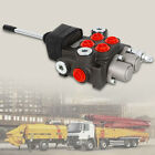 Hydraulic Directional Control Valve Tractor Loader+Joystick 2Spool 11GPM Durable