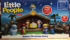 Toy Little People Nativity Play Set 12 Figures Total Of 18 Pieces