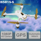 Hubsan H501S S 58G FPV Drone Brushless 1080P RC Quadcopter GPS RTHBNF+Battery