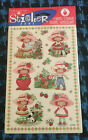 VINTAGE STRAWBERRY SHORTCAKE STICKERS 1998 AMERICAN GREETINGS 2 Sheets Sealed