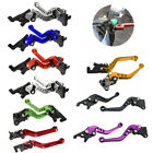 2X CNC Short Motorcycle Bike Brake Lever Clutch For SUZUKI GSXR600/750/1000/1300