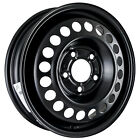 01430 Refinished Buick Electra 1985 1990 15x4 Spare Steel Wheel Rim Black