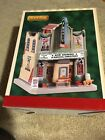 Lemax Mo's Movie Theater # 95541 Holiday Village/Train  2019 Lighted