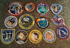 Vintage Nasa Mission Space Shuttle APOLLO Sky Lab Patches Lot of 13
