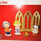 Dept 56 Peanuts Snoopy Woodstock Linus Sally Nativity Set 4044956 2015