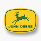 John Deere Premium Logo Vinyl Decal Sticker Green Tractor Deer Car Truck Yellow