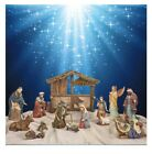 Kirkland Signature Nativity Set 13 Piece Christmas Prop Decoration Holiday