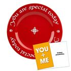 Waechtersbach You Are Special Today Red Plate Premium Ceramic Dinner Plate