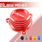 CNC Engine Oil Filter Fuel Cap Plug Cover for YAMAHA XMAX 125 250 300 400 17-18