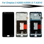 for Oneplus 3T A3010 / 3 A3000 LCD Digitizer Display Touch Screen Assembly Frame