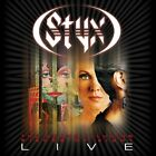 USED STYX-THE GRAND ILLUSION PIECES OF EIGHT: LIVE IN CONCERT-JAPAN 2CD H00 F/S