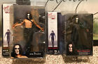 Cult Classics Series 1 The Crow Eric Draven Action Figures NECA Toys Horror Lot
