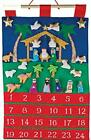 Nativity Fabric Advent Calendar Countdown to Christmas