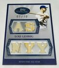 Lou Gehrig Cards, Rookie Cards, and Memorabilia Guide 61