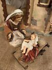 Members Mark Nativity 2007 Holy Family Fabric Porcelain Replacement of Mary