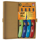BIC Multi purpose Classic Edition Lighter Assorted Colors 4 Pack