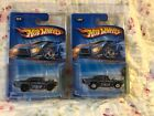 2005 Hot Wheels Treasure Hunt 57 Chevy Both Variation Black And Chrome Wheels