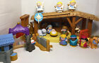 Fisher Price Little People Large Nativity Scene Christmas Lot