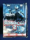 1990 Topps RoboCop 2 Trading Cards Box 36 Unopened Wax Packs