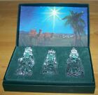 Waterford Marquis Crystal NATIVITY Collection THE THREE WISE MEN Original Box