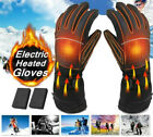 New Motorcycle Electric Heated Gloves Adjustable Wrist Belt Design Waterproof