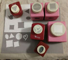 Lot of Emagination  McGill paper punches Oval Circle Triangle Shapes Stamp