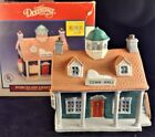 Dickensvale Lighted 1993 Town Hall Christmas Village Lemax #35090 Box