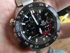 Casio Edifice Herrenhr Analog Chronograph Edelstahl EFR-558DB-1AVUEF