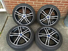 Set of Ford Focus ST OEM Premium 18 wheels with Goodyear Eagle F1 Asymmetric 2s