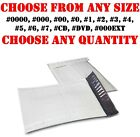POLY BUBBLE MAILERS SHIPPING MAILING BAGS PADDED ENVELOPES SELF SEAL WHITE SIZE